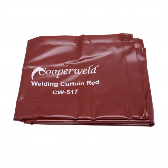 WELDING CURTAIN RED